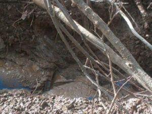 Toprağa gömülmüş 4 ton patlayıcı ele geçirildi