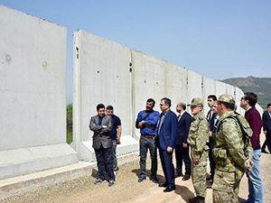 Suriye sınırında güvenlik önlemleri arttırılıyor