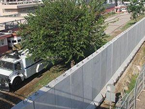 ABD Adana konsolosluğu önüne 5 metrelik duvar