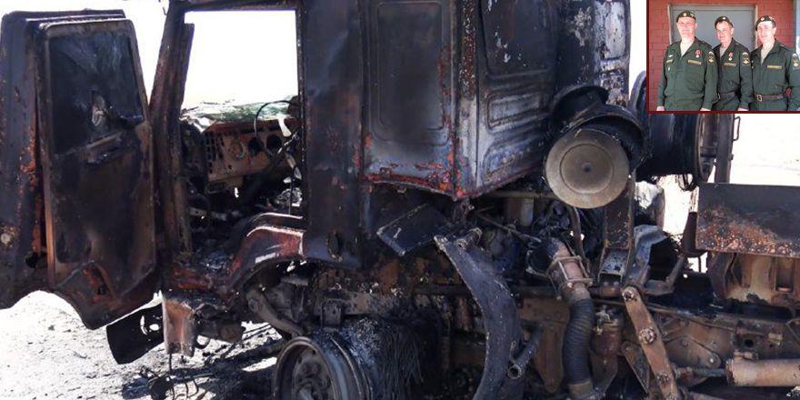 Rakka'da öldürülen Rus askerleri