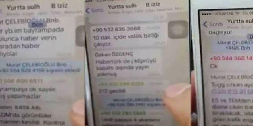 Darbeci generallerin whatsapp görüşmeleri