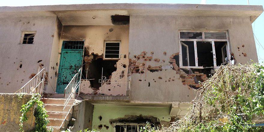 Diyarbakır Ergani'de PKK'nin hücre evine operasyon