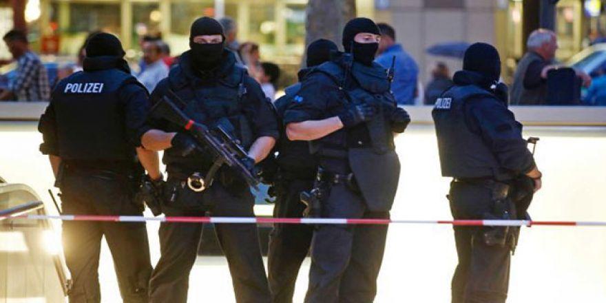 Almanya Münih'teki saldırının görüntüleri