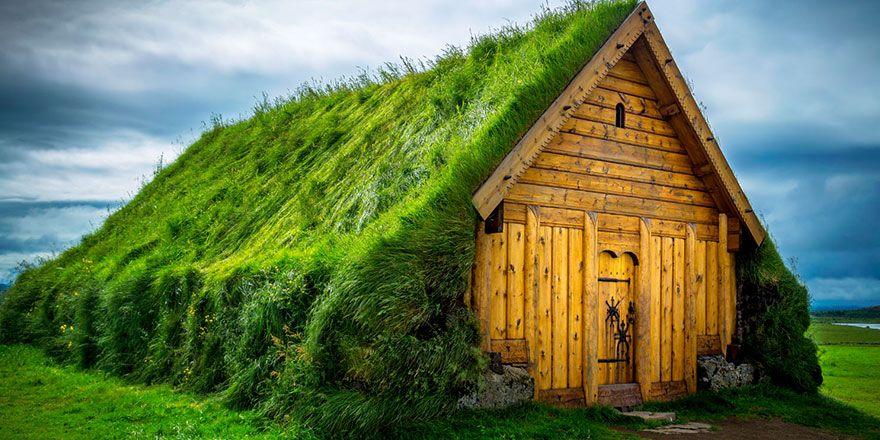 Doğa ile bütünleşen evler