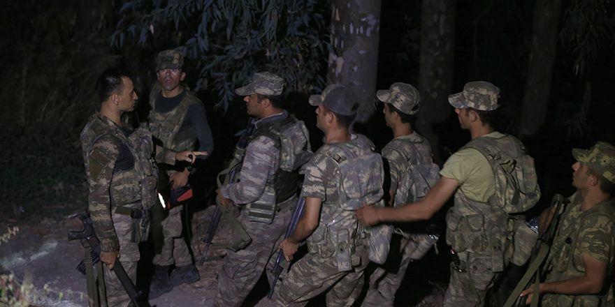 Muğla'da yakalanan darbeci askerlerin isimleri ve görüntüleri