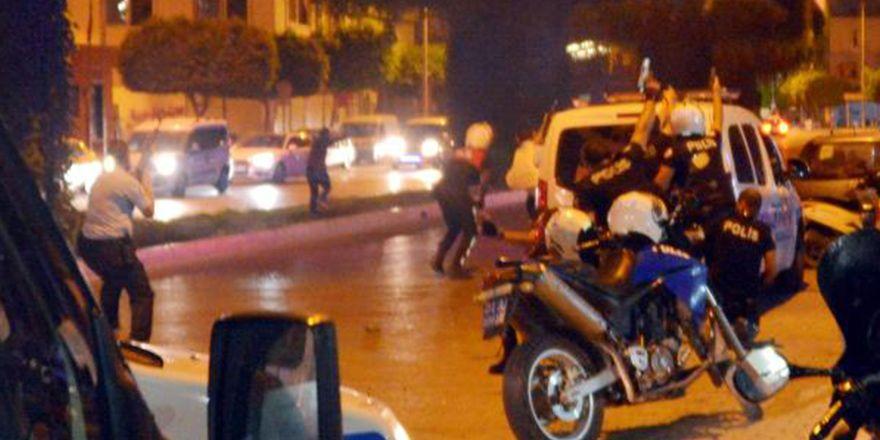 Çatışmanın yaşandığı Adana Seyhan'dan görüntüler
