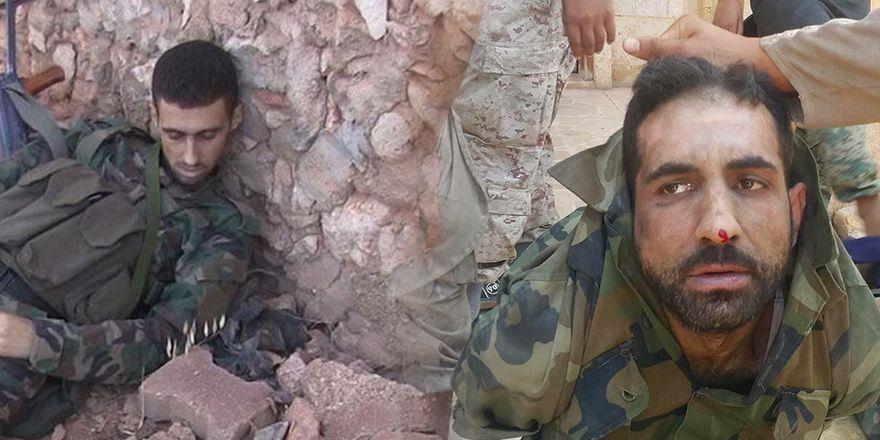 Halep'te öldürülen ve esir alınan Esed rejim ve rejim yanlısı asker