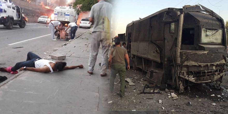 Mardin Kızıltepe ve Diyarbakır Sur'daki patlamadan görüntüler