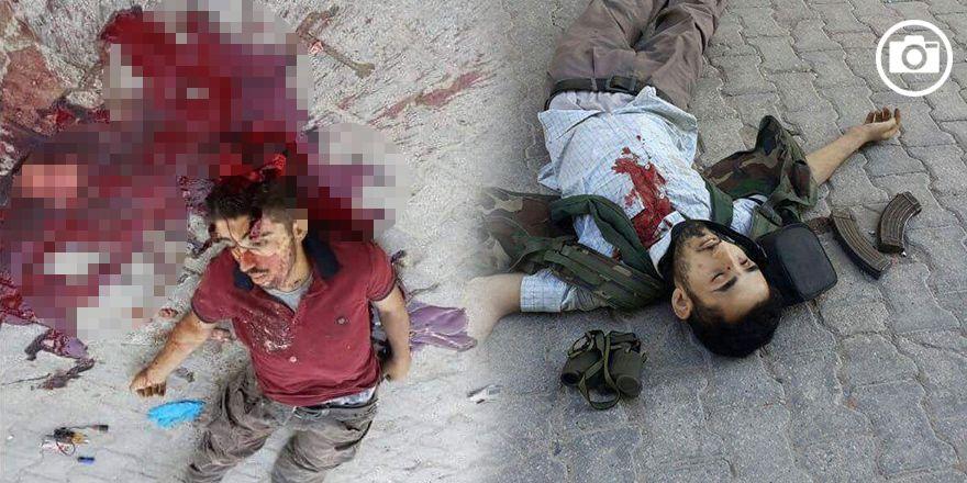 Nusaybin'de oldurulen PKK'lilerin ceset görüntüleri