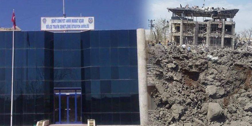 Diyarbakır-Batman karayolundaki patlamanın görüntüleri
