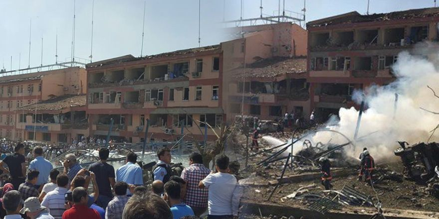 Elazığ'daki patlamanın görüntüleri