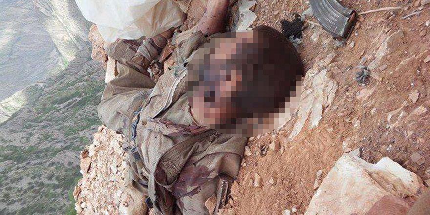 Öldürülen PKK'lilerin ceset görüntüleri