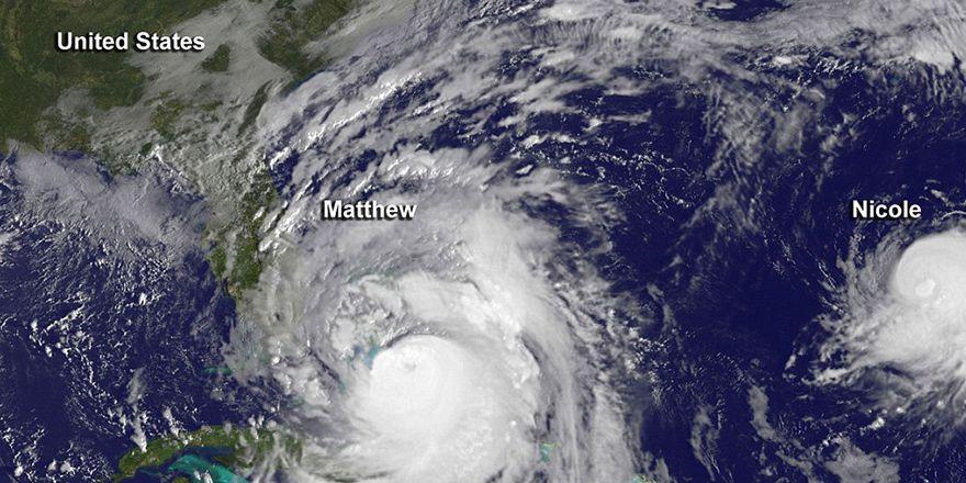 Ölümcül Matthew Kasırgası'nın görüntüleri