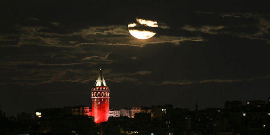 '14 Kasım Süper Ay' görüntüleri