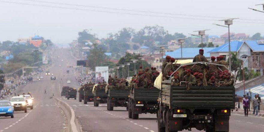 Kongo'da göstericiler ile polis arasında çatışmalar