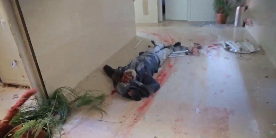Musul'u işgal operasyonunda sivil katliamının görüntüleri 1