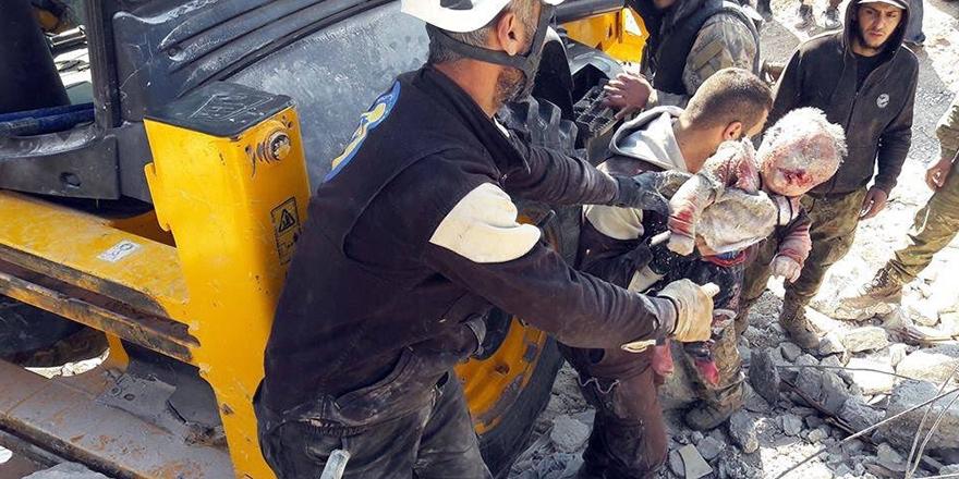 Rusya'nın İdlib katliamından görüntüler 1