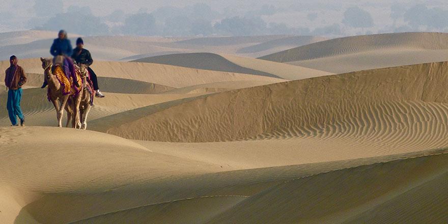 175 bin yıl öncesinde nehirlerin aktığı çöl