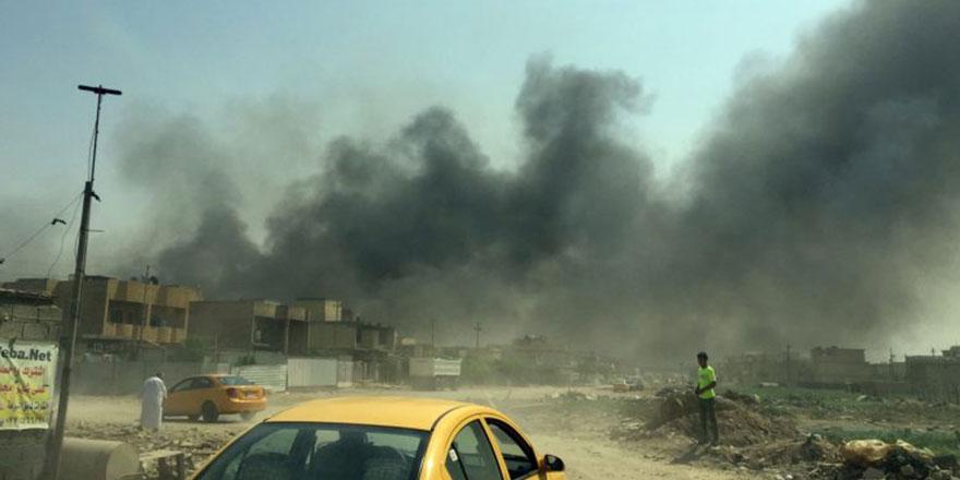 Bağdat Havalimanı füzelerle hedef alındı