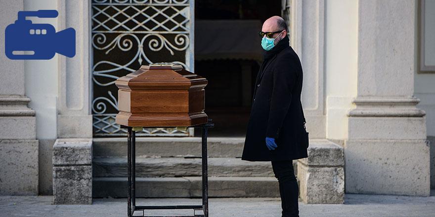 İtalya'dan korkunç görüntüler! İnsanlar sokak ortasında ölüyor