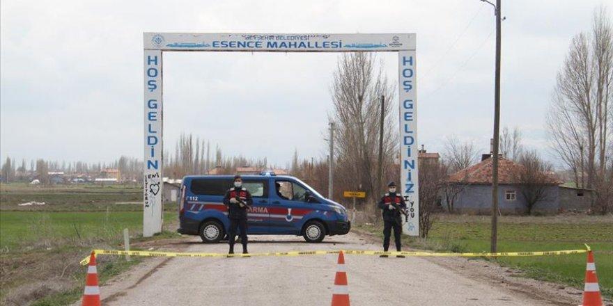 Konya'da bir mahalle için karantina kararı