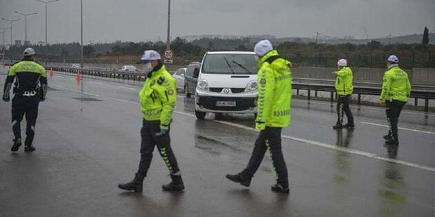 İstanbul'da giriş çıkışlar kontrol altında