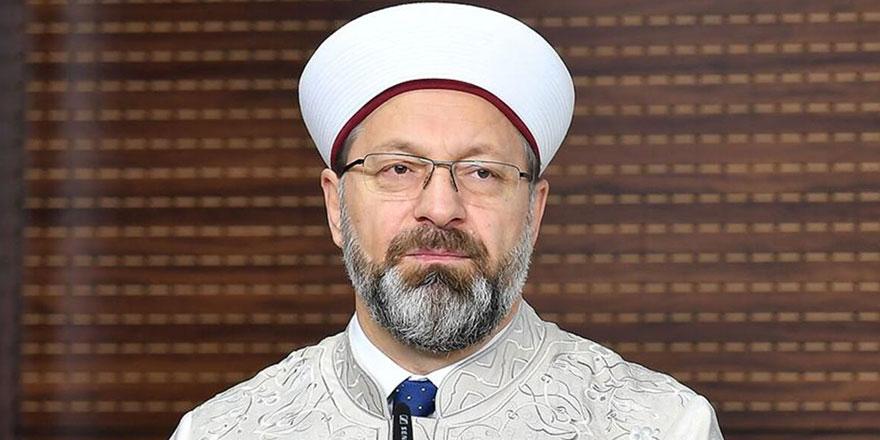 Diyanet İşleri Başkanı Ali Erbaş, koronavirüse yakalandı