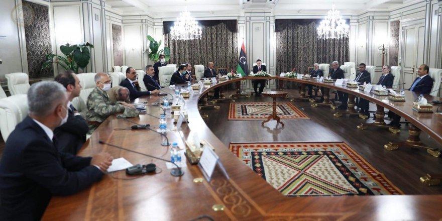 Çavuşoğlu, Kalın, Albayrak ve Fidan Libya'da