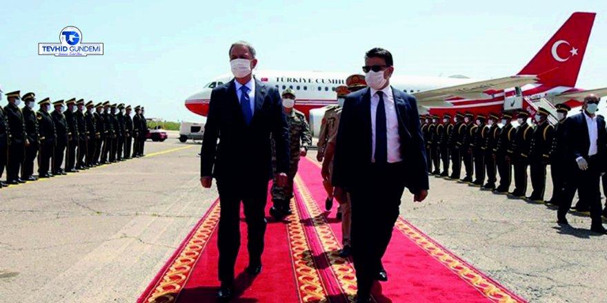 Milli Savunma Bakanı Akar'dan Libya ziyareti!