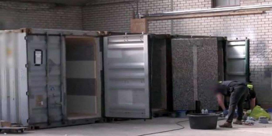 Hollanda'da 'işkence konteynerleri' bulundu