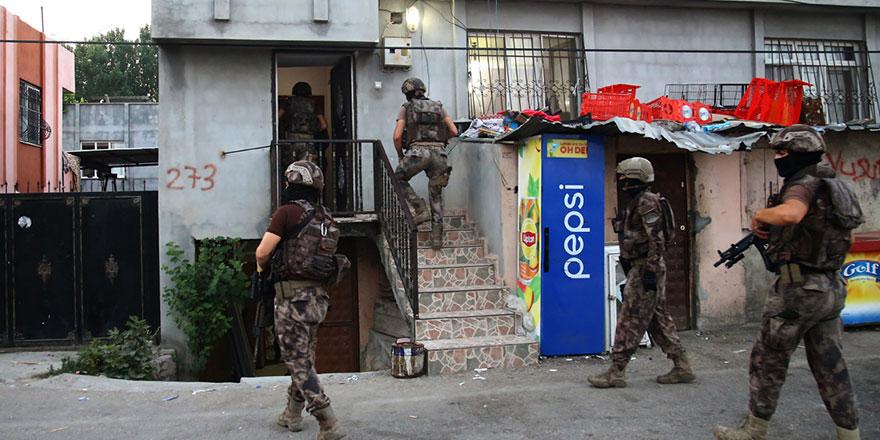 Adana'da 17 adrese PKK/KCK operasyonu