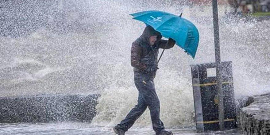 Meteoroloji Genel Müdürlüğündenşiddetli yağış uyarısı