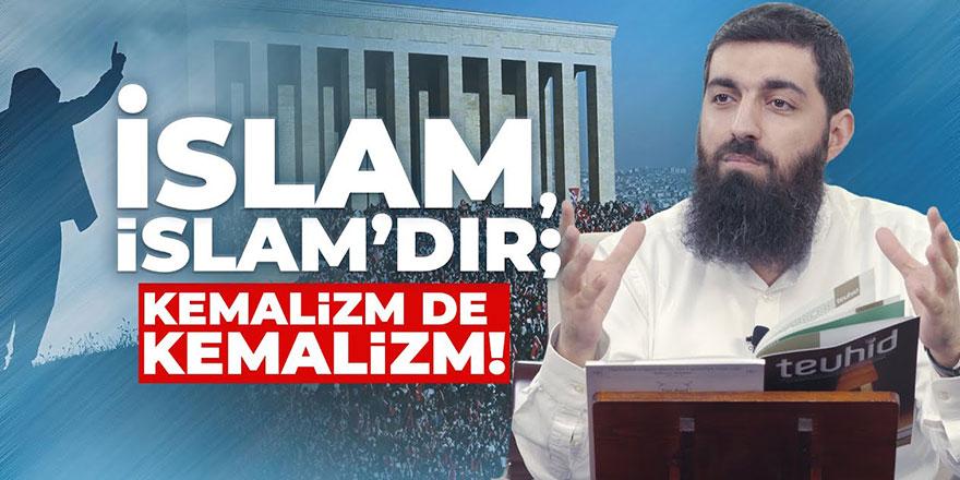 İslam İslam'dır, Kemalizm de Kemalizm'dir | Halis Bayancuk Hoca