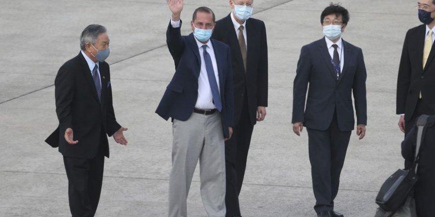 ABD'den Tayvan'a 41 yıl sonra üst düzey resmi ziyaret