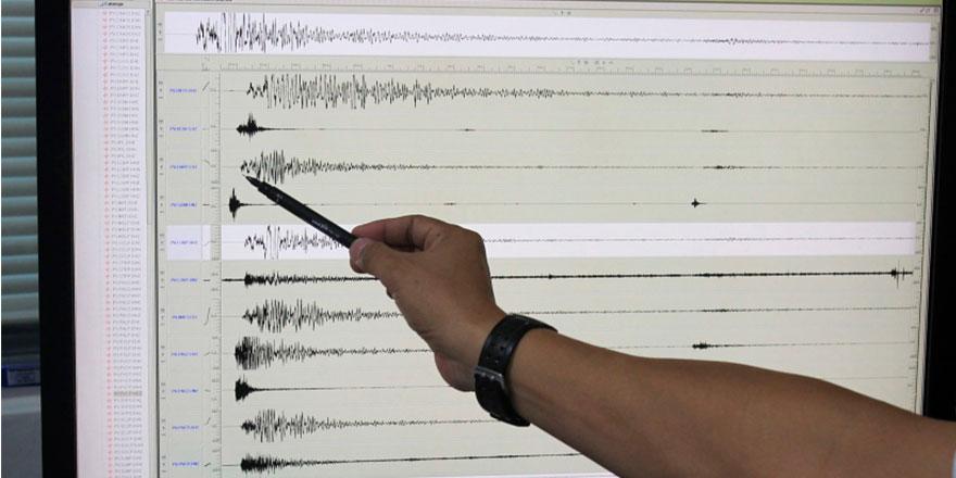 Malatya 4.5 şiddetinde depremle sallandı