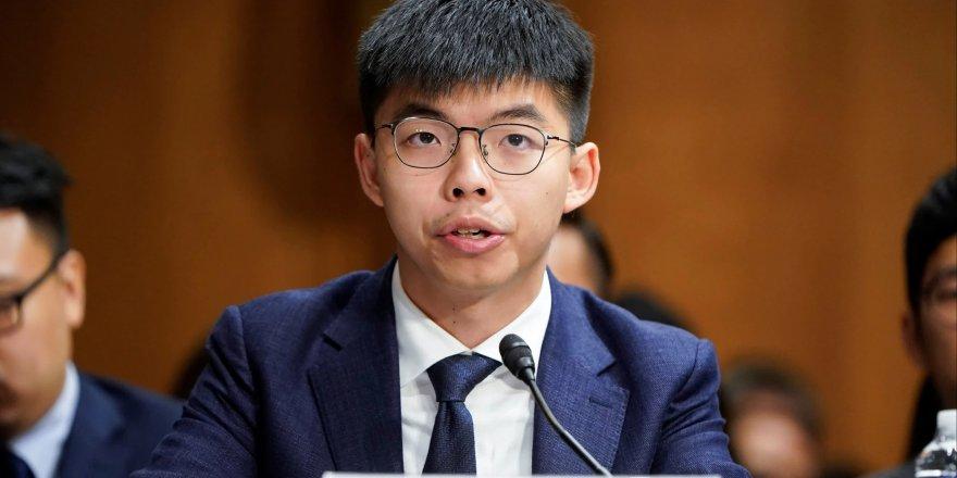 Aktivist Joshua Wong gözaltına alındı