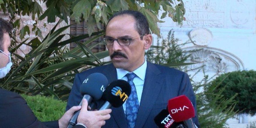 İbrahim Kalın: Kobane olaylarını unutmak mümkün değil, gelişmeleri izleyeceğiz