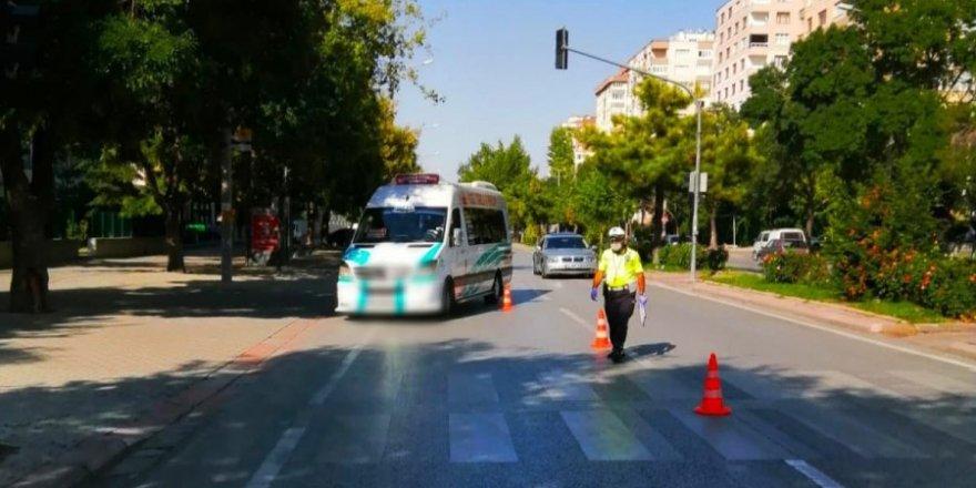 Konya'da özel yaya önceliği denetimi! 814 sürücüyeceza uygulandı