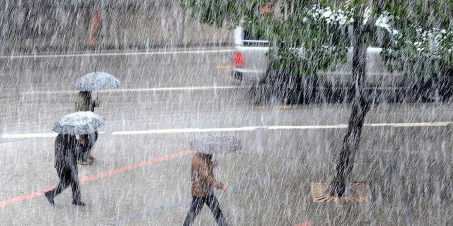 Meteorolojiden 2 kent için kuvvetli sağanak yağış uyarısı