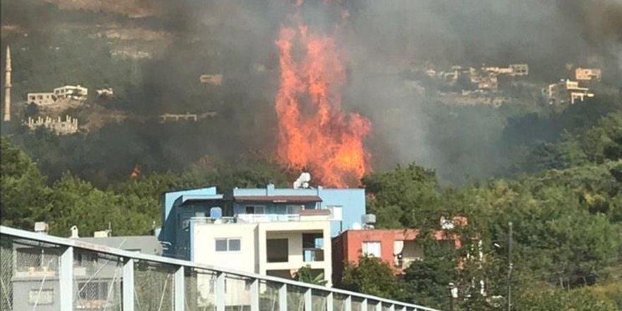 Hatay'da art arda orman yangınları