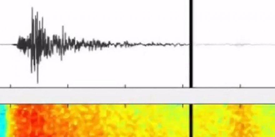 İzmir depreminin yer altında oluşturduğu ürkütücü ses