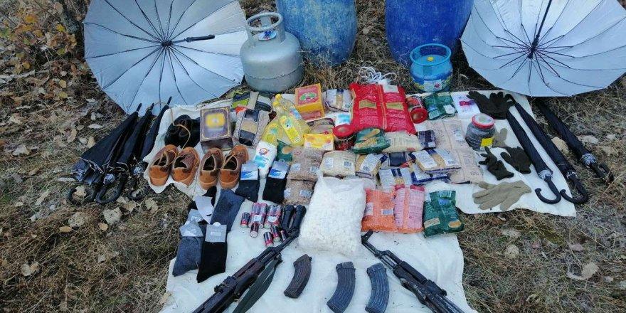 Diyarbakır'ın Lice ilçesinde 448 kilo uyuşturucu ele geçirildi