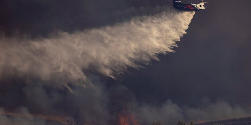 California yeniden yangınlara teslim
