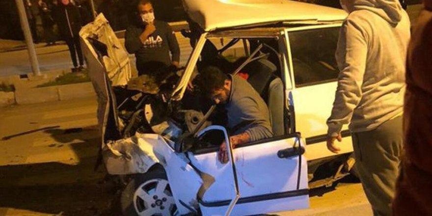 Antalya'da trafik kazası: 3 ölü, 4 yaralı