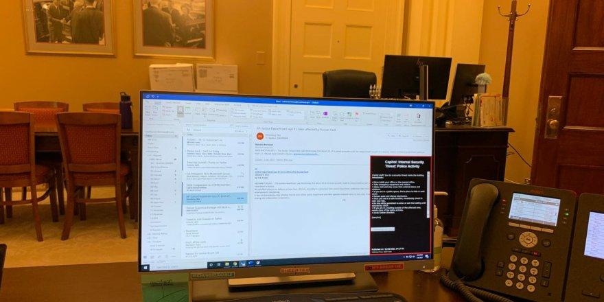 ABD Temsilciler Meclisi Başkanı Pelosi'nin bilgisayarını çaldığı iddia edilen kişi gözaltında!