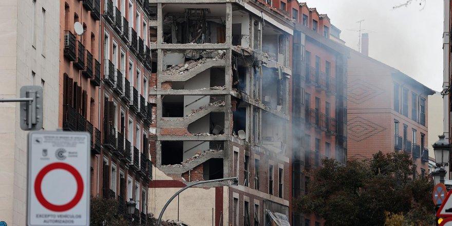 Madrid'de şiddetli patlama:2 ölü