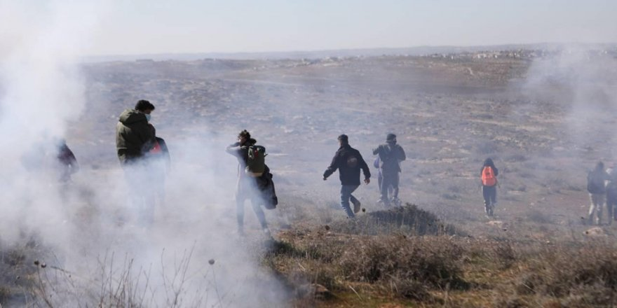 İsrailli Yahudi yerleşimcilerden insanlık dışısaldırı!