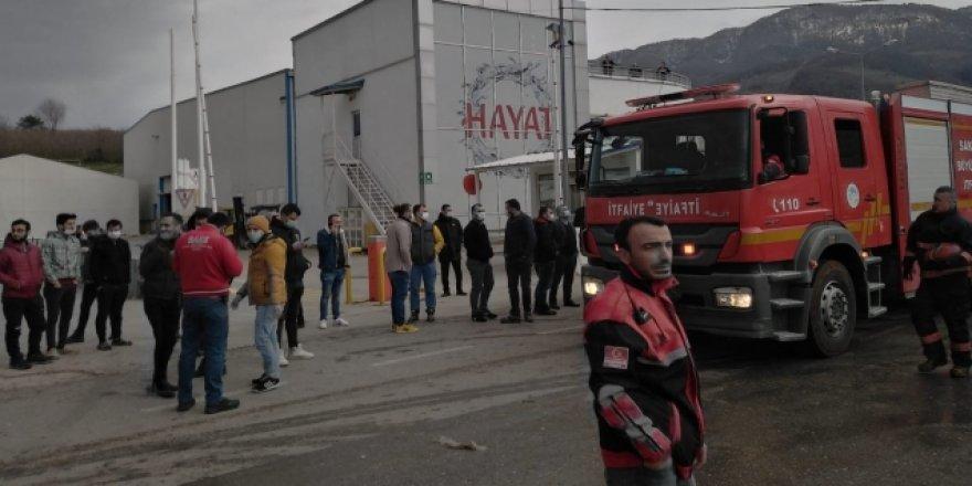 Sakarya'da patlama sesi! olay yerine ekipler sevk edildi