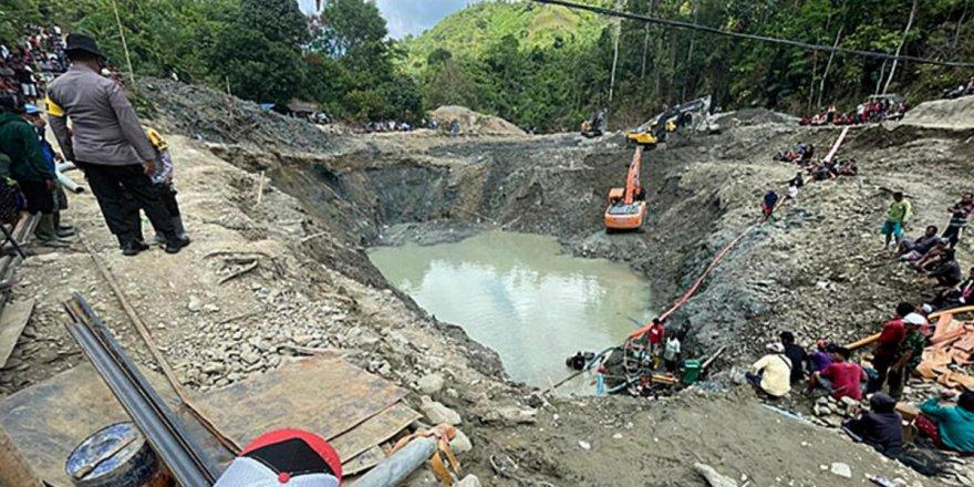 Endonezya'da maden ocağında heyelan: 5 işçi hayatını kaybetti