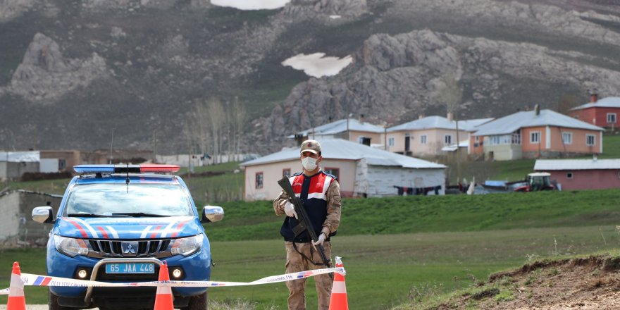 Pozitif vakaları artan mahalle karantinaya alındı